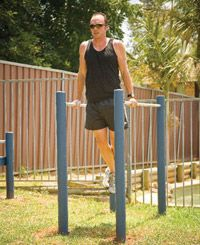 How to install parallel bars | Install parallel bars in your backyard and save time and money!