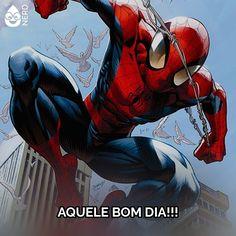 #TimelineAcessivel Imagem do Homem Aranha pulando pela cidade com sua teia e a legenda: AQUELE BOM DIA!!!   TAGS: #coxinhanerd #nerd #geek #geekstuff #geekart #nerd #nerdquote #geekquote #curiosidadesnerds #curiosidadesgeeks #coxinhanerd #coxinhahq #hq #quadrinhos #homemaranha #spiderman #marvel #marvelcomics #comics #bomdia #goodmorning