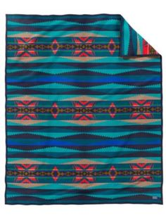 LAHAINA WAVE BLANKET WITH CARRIER