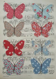 Check out this item in my Etsy shop https://www.etsy.com/listing/226295797/butterfly-picture-embroidered-fabric
