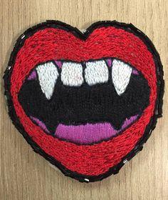 patch vampirona. 🕸 - bijoux sem marca