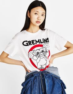 GREMLINS ecologically grown cotton T-shirt