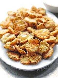 Fried Pickles Recipe | She Wears Many Hats