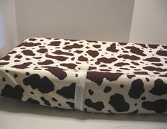 Changing Pad Cover Western Cow Print. Ok I'm in LOVE with all the baby stuff!