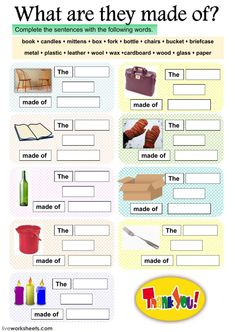 Materials interactive and downloadable worksheet. You can do the exercises online or download the worksheet as pdf.