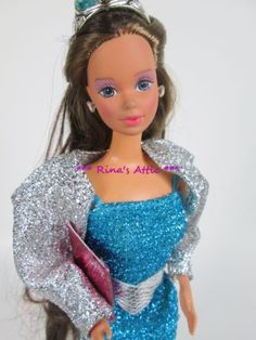 Vtg-1986-JEWEL-SECRETS-PRINCESS-LAURA-or-WHITNEY-Barbie-Doll-3179