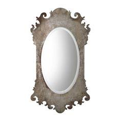 Vitravo Mirror | Uttermost Silver Wall Mirror, Metal Mirror, Mirror Glass, Wall Mirrors, Frameless Mirror, Beveled Mirror, Uttermost Mirrors, Mirrors For Sale, Thing 1