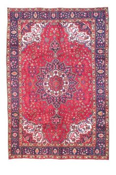 """Authentic Tabriz knotted wool rug - $3500 (on Hautelook - sale called """"One of a Kind: Modern Treasures"""""""