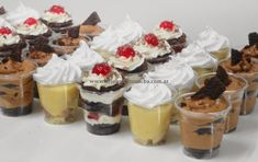 Postres!... quien dijo : Yo!? / Paula Aguirre Custard, Parfait, Cheesecake, Creations, Desserts, Food, Puddings, Toy Story, Baby Shower