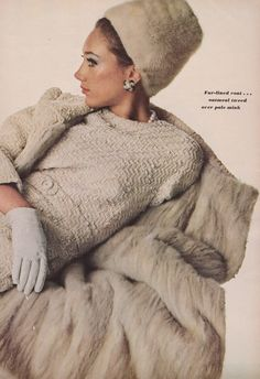 https://flic.kr/p/GSiwAX | Vogue Editorial Sept. 1965 | Shot by Irving Penn. The magazine was big so my scanner couldn't get all the text.