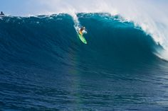 Photo of the Day: Keala Kennelly, Jaws. Photo: Noyle