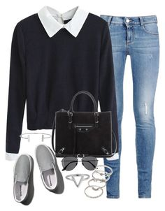 """""""Untitled #1176"""" by ruhika29 ❤ liked on Polyvore featuring STELLA McCARTNEY, Balenciaga, Humble Chic, Abercrombie & Fitch, H&M, Forever 21 and ChloBo"""