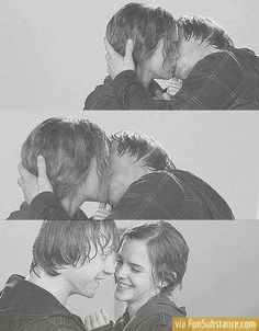 OMG!!!!!!!! My second favorite couple!!! My first fav. is Harry and Ginny.