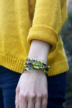 the moral wardrobe: hippie dippie with bracelet from #jesuseconomy #fairtrade #hippie #sweaterweather