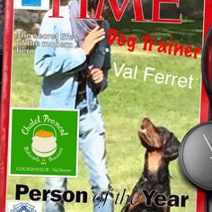 Dog trainer...