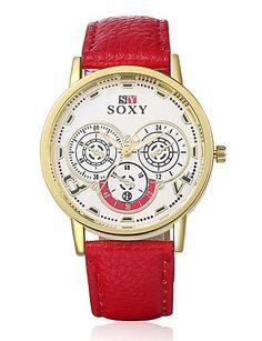SKLIT Mode klassischen Kenn hochwertigen Uhr-Armbanduhr-Leder-Business-Frauen einzigartigen Damenuhren beobachten - http://uhr.haus/sklit-watches/sklit-mode-klassischen-kenn-hochwertigen-uhr