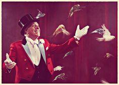 old ringmaster | Vintage Circus Ringmaster