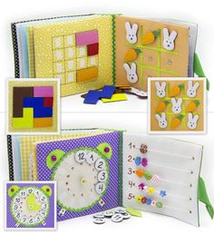 Los libros sensoriales (libros de fieltro) pueden ser un increíble juguete que entretenga durante horas a los niños, al tiempo que aprenden ...