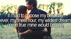 """""""absolutely"""" God, I hate when you're gone..... my traveling man <3 Mine would be you - Blake Shelton"""