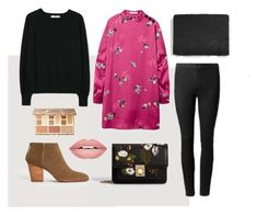 """""""Jumper with a Dress"""" by aneeqlondon on Polyvore featuring MANGO, Sephora Collection and Forever 21"""
