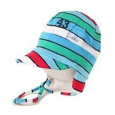 Döll dětská bavlněná čepice s kšiltem Pruhy 632 1616150617