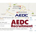 AEDC Recruitment 2017