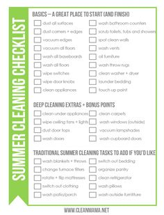 Holiday Cleaning Help  A Printable Schedule And Checklist