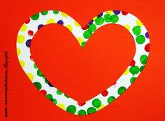 MammA GiochiaMo?: Lavoretto di San Valentino: decorazioni a pois
