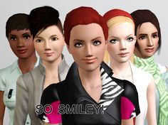 Smiling Pose Pack