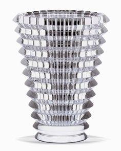 Eye Vase, Large by Baccarat at Bergdorf Goodman.