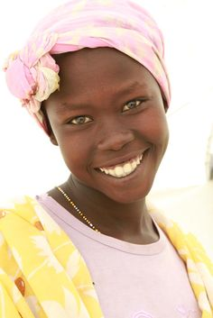 December 31:  A gorgeous smile from Maban County, South Sudan.  Photo: Margaret Aguirre, International Medical Corps, South Sudan 2012