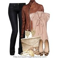 Cute Casual Outfits 2012   Browns and Black   Fashionista Trends