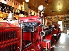 Vintage Firehouse museum in Allendale MI with great shopping.  Kids can get into engine and ring bell, neat photo opp.  More pics & details:http://grkids.com/captured-in-clay-goes-vintage-firehouse-for-a-day-at-hammer-and-thread/