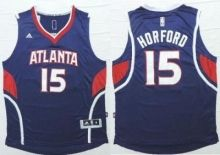 Atlanta Hawks #15 Al Horford Blue Revolution 30 Stitched NBA Jersey