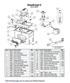 10 Best Ritchie Waterer Parts List images in 2018 | Milwaukee tools