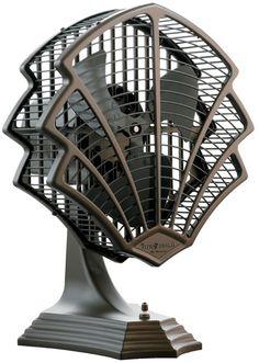 This item not antique but a great art deco design. Fitzgerald Art Deco Fan Convinces Us to Ditch Central Air Estilo Art Deco, Muebles Estilo Art Nouveau, Arte Art Deco, Moda Art Deco, Art Deco Era, Art Deco Decor, Wall Decor, Design Industrial, Art Deco Stil