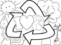Earth Day coloring sheet FREEBIE Make your world more colorful with free printable coloring pages from italks. Our free coloring pages for adults and kids. Earth Day Activities, Spring Activities, Holiday Activities, Classroom Activities, Earth Day Worksheets, Earth Day Projects, Earth Day Crafts, Grande Section, Happy Earth