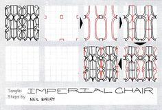 Imperial Chair~Zentangle