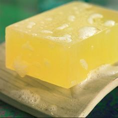 How to Make Aloe Vera Soap: Aloe vera soap is anti-infective, anti-inflammatory and soothing on cuts and burns—and very easy to make with this herbal soap recipe. Aloe Vera, Beauty Hacks For Teens, Savon Soap, Soap Making Supplies, Mother Earth News, Homemade Soap Recipes, Best Soap, Soap Base, Cold Process Soap