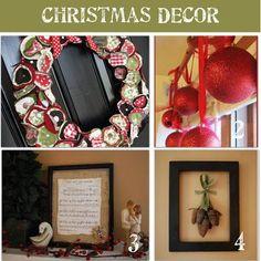 How to Make 16 Homemade Christmas Decorations