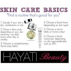 """""""skin care basics"""" by hayatimagazinestyle on Polyvore"""