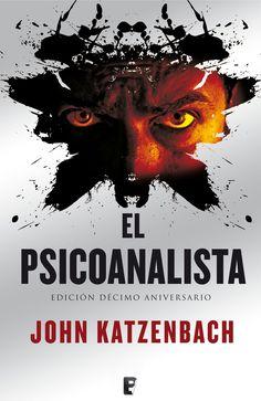"Portada de ""El Psicoanalista"" de John Katzenbach (2002)."