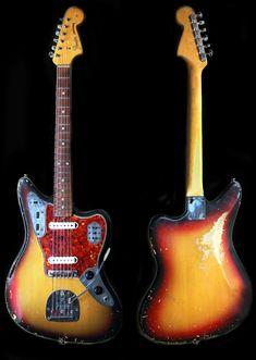 Music Guitar, Cool Guitar, Acoustic Guitar, My Music, Fender Jaguar, Guitar Photos, Studio Equipment, Guitar Players, Fender Guitars
