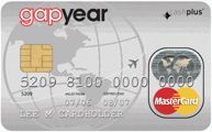 Gap year prepaid card