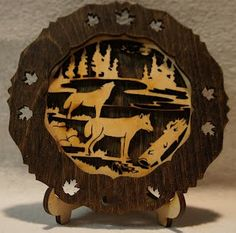 Tons of these, check them out at www.laserpalooza.com only $14.95 great deal for the nature lover in your family.        HomeMissionContact usOur friendsPromotionsVideosWoodFabricsSignageMirrorsGlassMetalsMiscellaneousNightlightsOrnaments