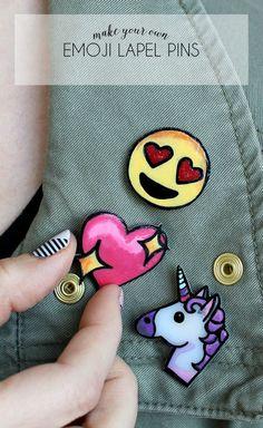 Emoji Lapel Pins