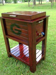 Georgia bulldog wooden cooler в 2019 г. Wood Cooler, Pallet Cooler, Patio Cooler, Diy Cooler, Outdoor Cooler, Wooden Pallet Furniture, Wooden Pallets, Wooden Diy, Outdoor Furniture