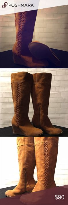 Tall lucky brand boots Great boots worn 1 or 2 times fit great very comfortable Lucky Brand Shoes Over the Knee Boots