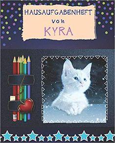 Hausaufgabenheft von Kyra: Personalisiert Hausaufgabenheft: