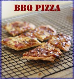 A tantalizing, savory-sweet BBQ Pizza- Just in time for the 4th of July!!